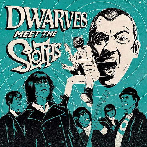 "DWARVES meet THE SLOTHS Split 7""(Color Vinyl)"