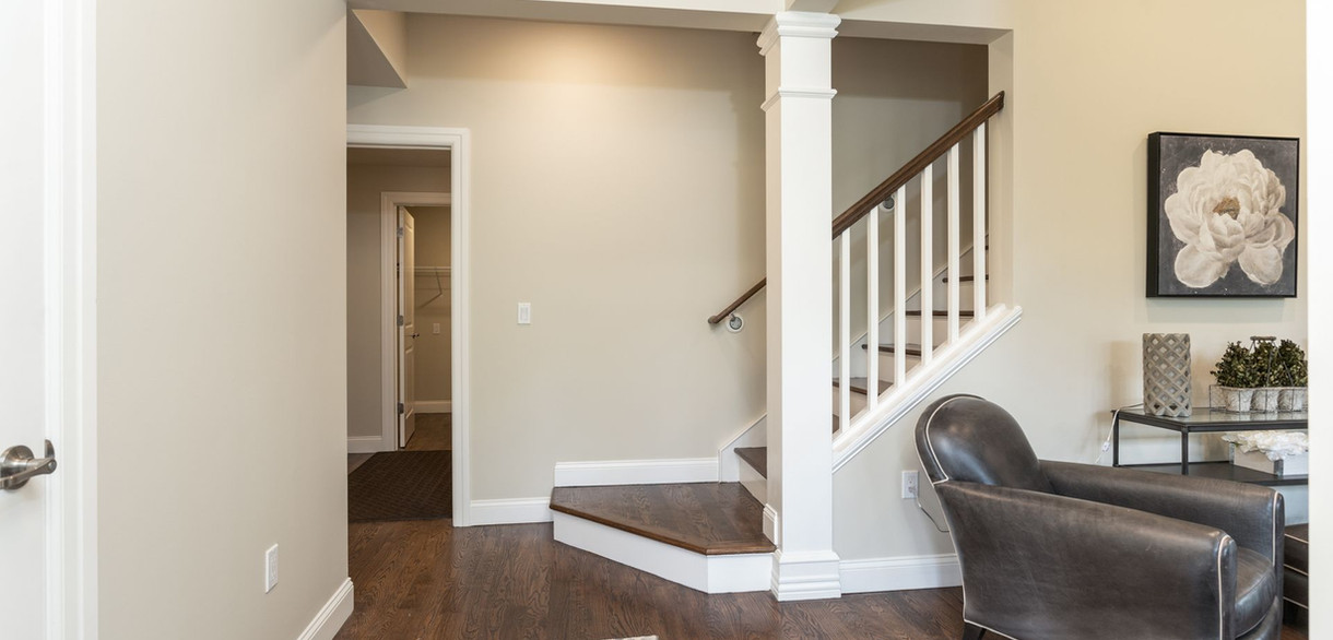 Entrance stair