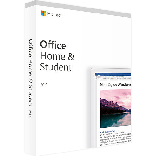 Office 2019 Home and Student - Download - 1 PC Product Key
