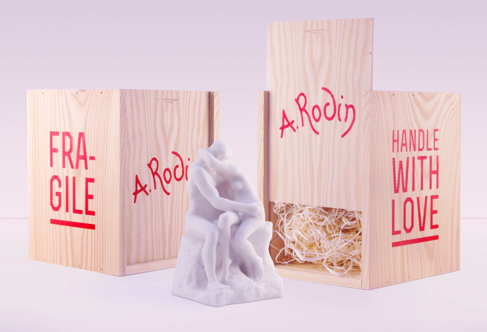 musee rodin packaging le baiser the kiss