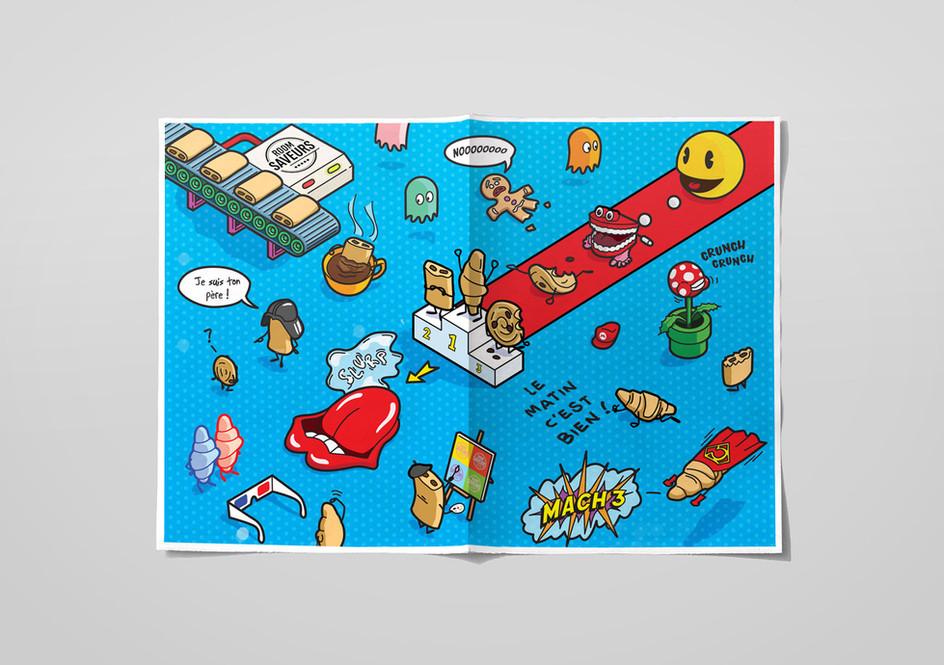 illustration POP petit déjeuner roomsaveurs 3