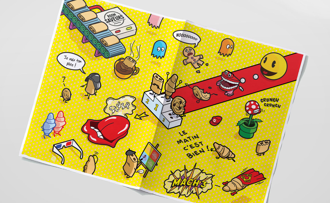 illustration POP petit déjeuner roomsaveurs 2