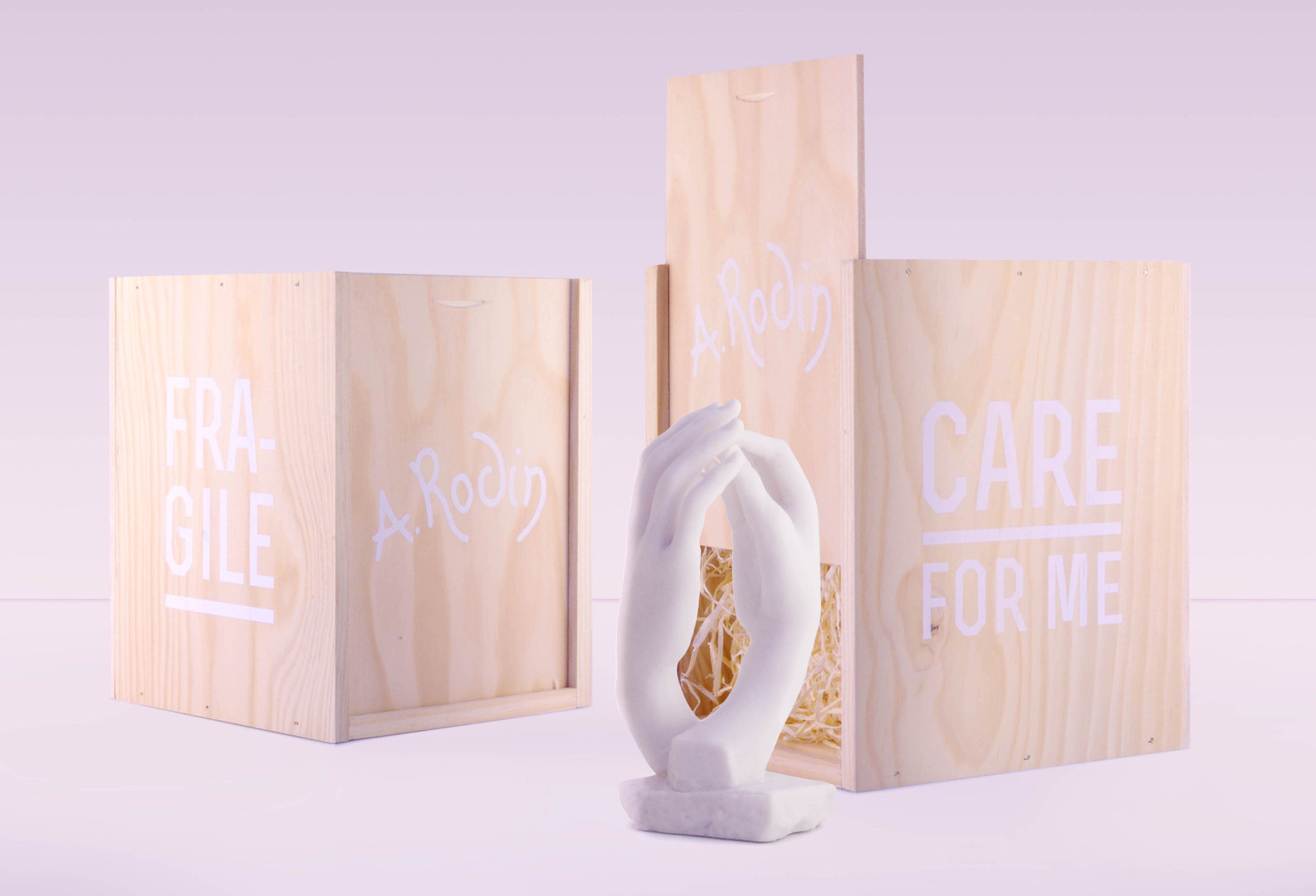 cathedrale musee rodin packaging