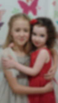 photo of two girls