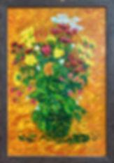 Flowers in a green vase.jpg