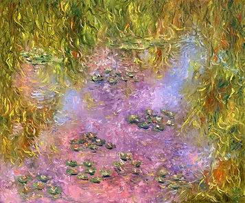 Tribute to Monet - Water Lilies 2.jpg