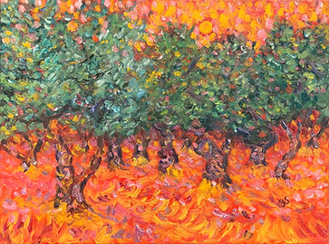 Olive Trees Under a Red Sky No.2.jpg