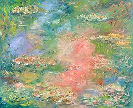 Tribute to Monet - Water Lilies 4.jpg