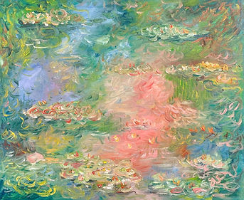 Tribute to Monet - Water Lilies 4.jpg