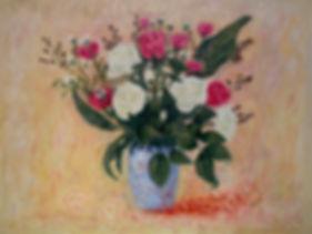 Roses in a Blue Vase.jpg