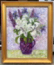 framed lily painting.jpg
