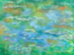 Tribute to Monet Water Lilies 3.jpg