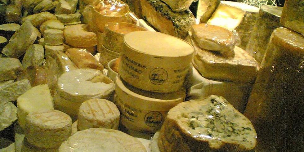 Luxury Cheese Night - wine pairing 6-8 PM on 1/21 (Tue)