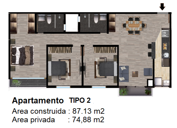 Torre D - Tipo 2
