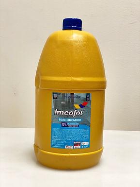 Hipoclorito de sodio 13% x Galón