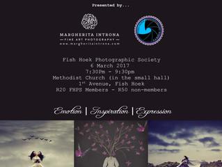 Presentation: Fish Hoek Photographic Society - 6 March 2017