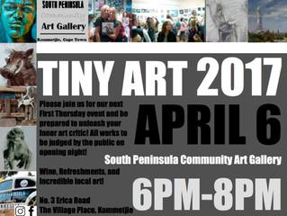 Exhibition: Tiny Art 2017