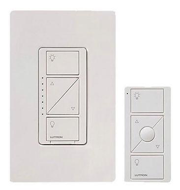 Kit Caseta Dimmer con tapa decorativa y control Pico)