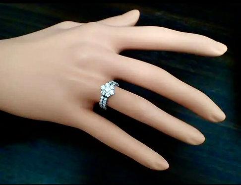 Ponete Vecchio 0.9ct Diamond Ring