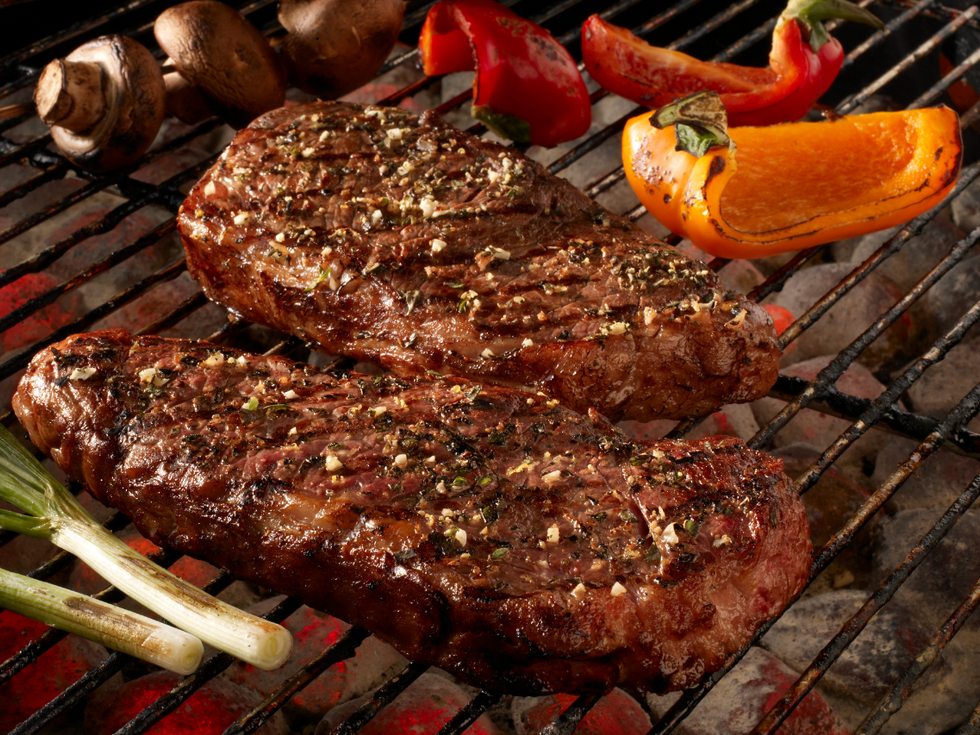 Grilled Grass Fed Steaks