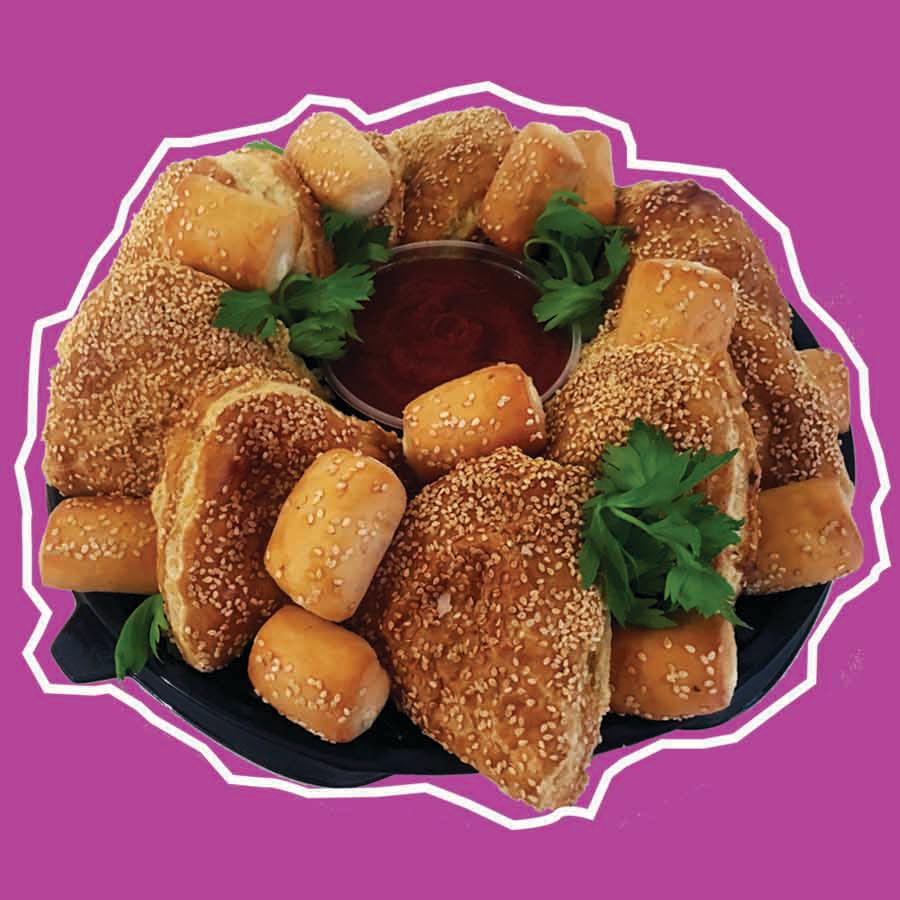 Charola de empanadas