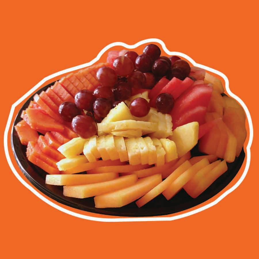 Charola de fruta