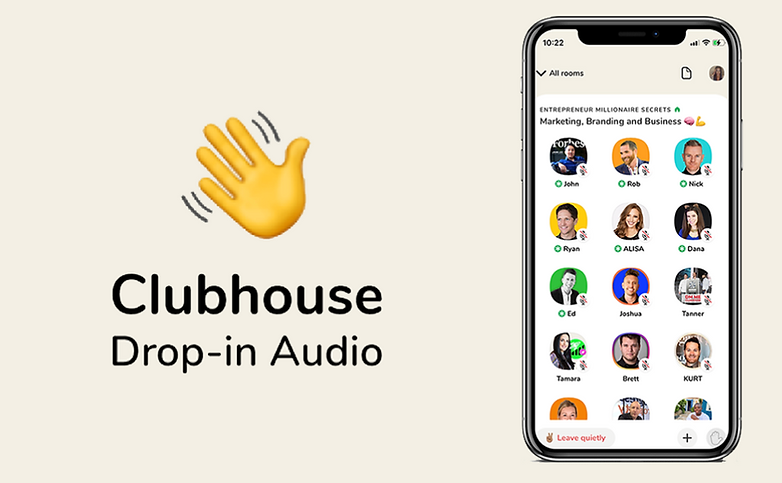 Clubhouse Drop-in Audio