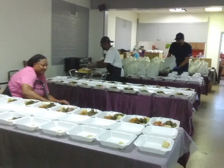 Pre-Thanksgiving dinner for my homeless with the help of our communities. Nov. 17th happy bday mom