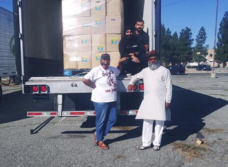 Riverside County food distribution