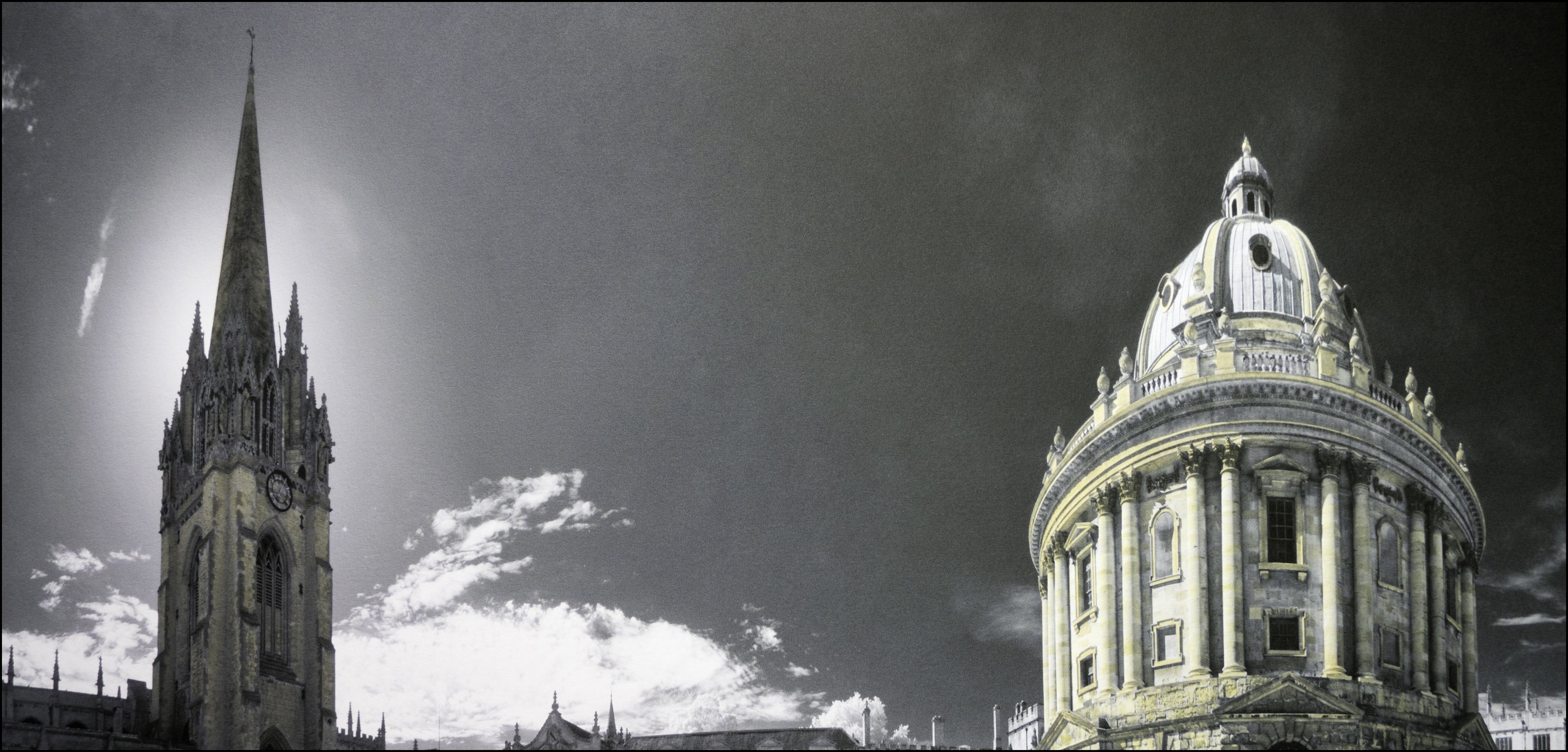 RADCLIFFE CAMERA OXFORD HAND PAINTED