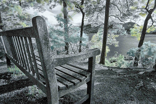 BENCH WITH A VIEW, DERWENT WATER, THE LAKES