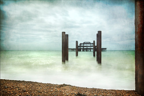 WEST PIER STORMY WATERS