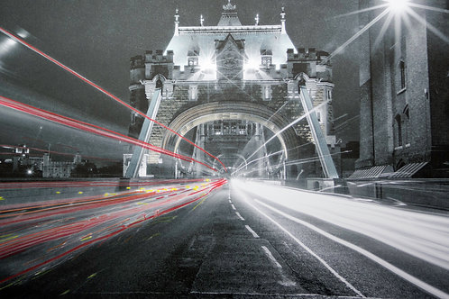 TOWER BRIDGE, LONDON  (PASTELS)