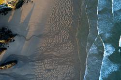 HOLYWELL BAY SAND PATTERNS DJI_0028