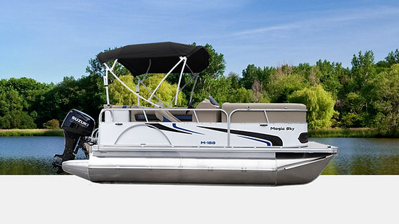 18ft-22ft Deluxe - Compact Pontoons