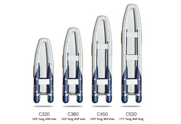 GALA Challenger C320-C520 Canoes