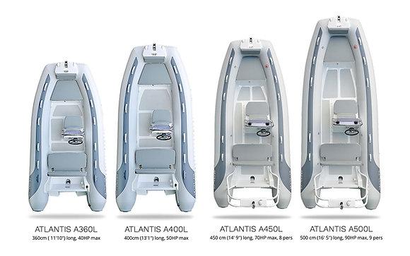 GALA Atlantis A360L-A500L RHIBs