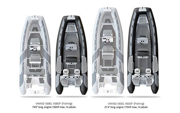GALA Viking Deluxe V500-V650F RHIBs
