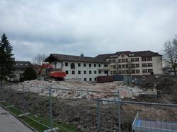Abbruch St. Josefshaus in Herten
