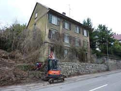 Abbruch Wohnhaus in Laufenburg