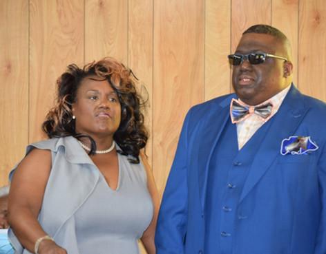Pastor and Co-Pastor Malveaux