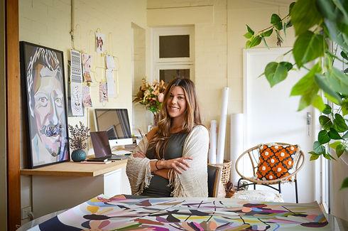 Bec Rosenthal in studio 1.jpg