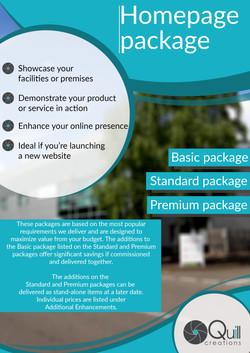 Homepage package_opening_export