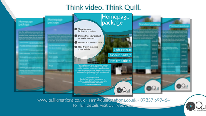 Professional video packages