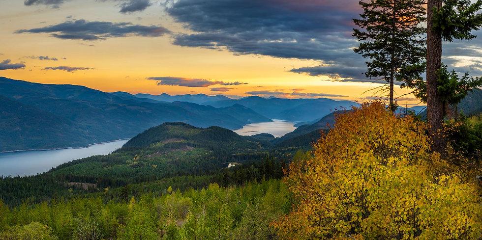 Arrow Lake Sunset