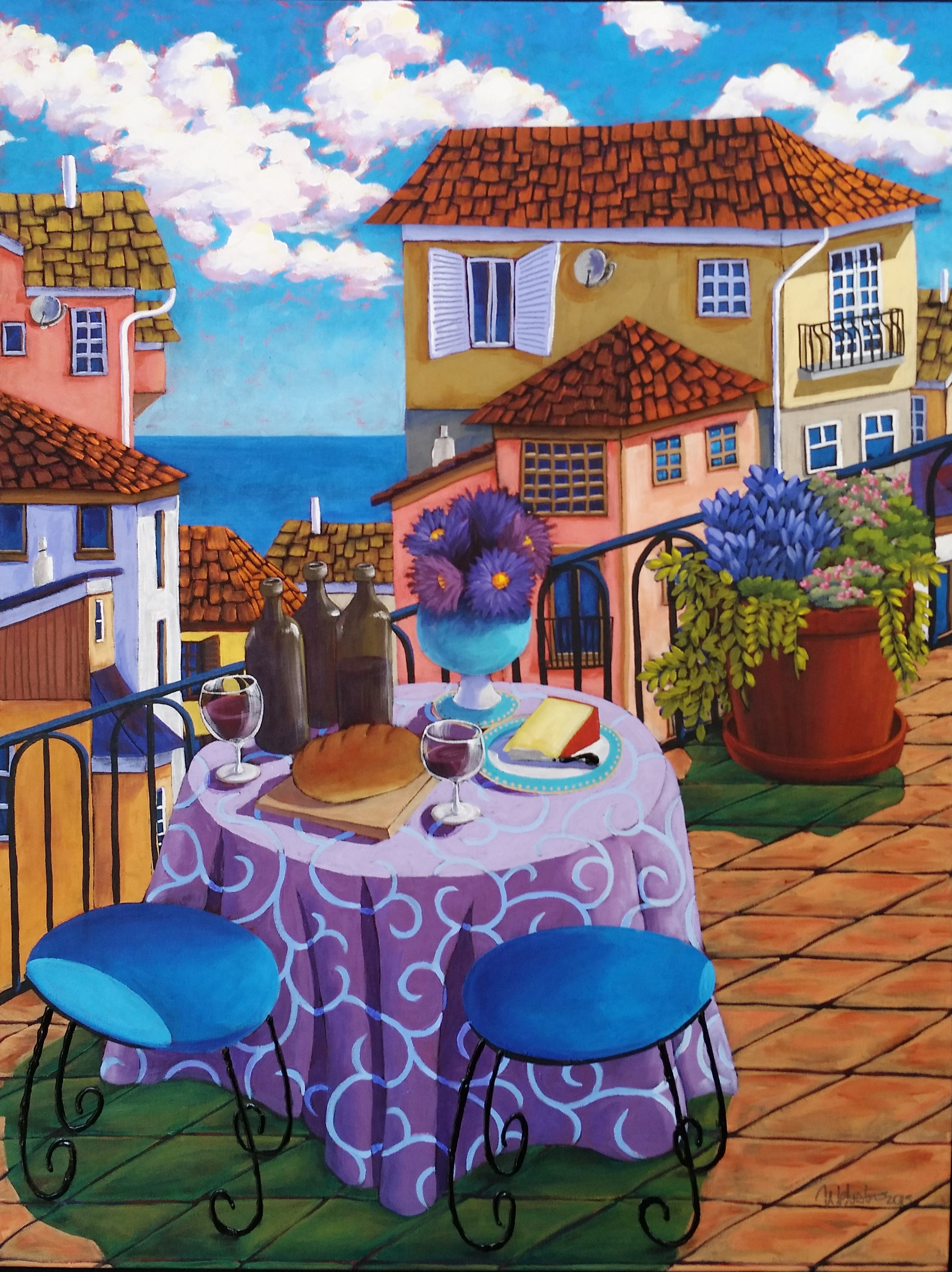 Lunch 37x28 SOLD
