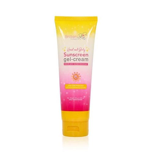 Brilliant Skin Essentials Hand and Body Sunscreen Gel Cream 120g