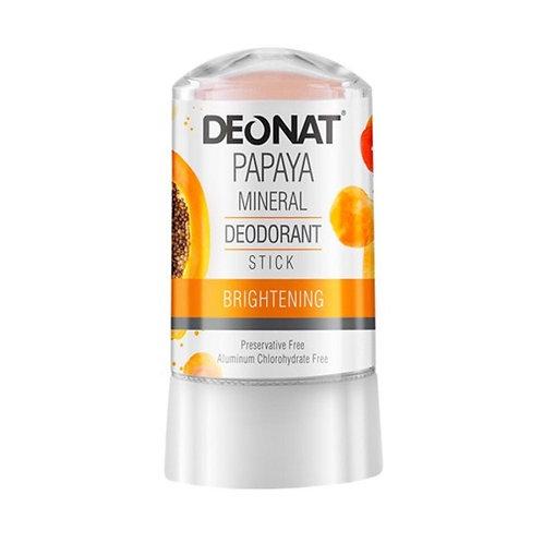 Deonat Papaya Mineral Deodorant Stick 60g