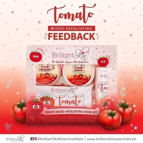 Brilliant Skin Tomato Micro-exfoliating Facial Set