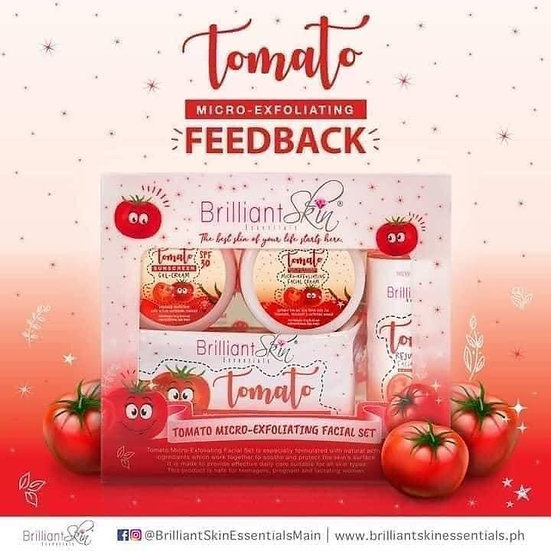 Brilliant Skin Tomato Micro-exfoliating Facial Set